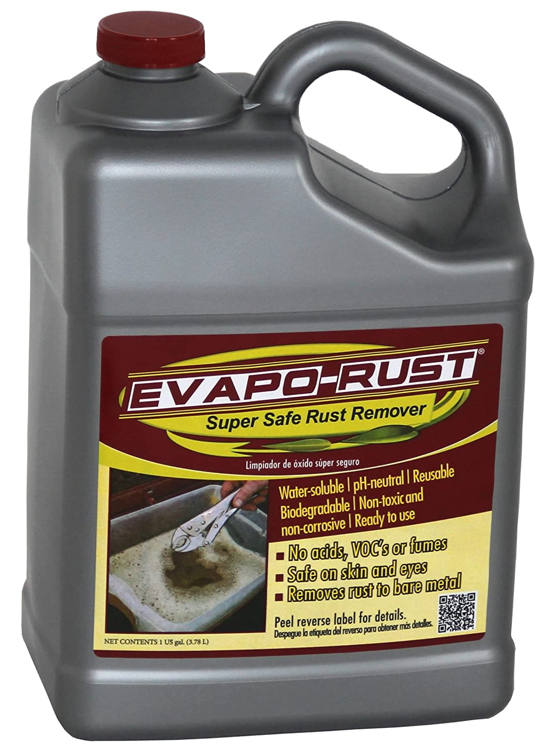 ハリスInternational Laboratories I er012 1-gallon evapo-rust non-hazardous Rust Remover 1 ER012 B00GRSOGJU