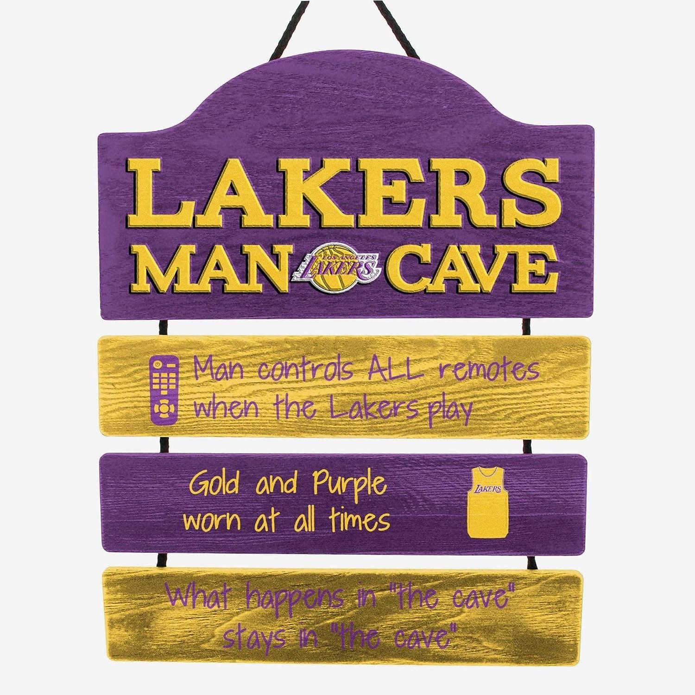 FOCO NBA Team Logo Mancave Man Cave Hanging Wall Sign