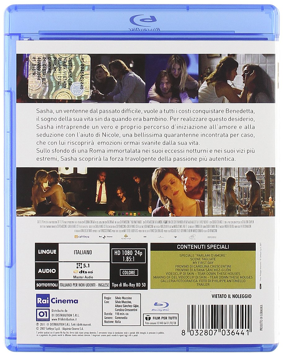 Amazon.com: Talk to Me About Love (2008) (Parlami damore ...