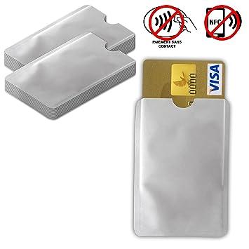 Lote de 20 - Protege Tarjeta Anti-RFID/Pago Sin Contacto Tarjeta ...