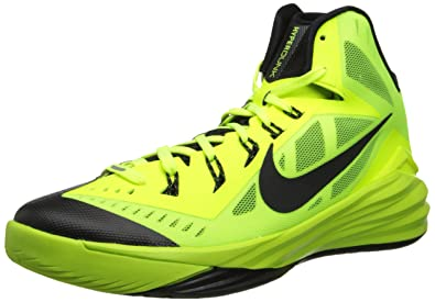 aafe33cb1c22 Nike Men s Hyperdunk 2014 Volt Black Basketball Shoe 10 Men US