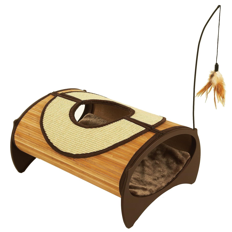 Amazon.com : Bamboo Cat Furniture Cat Pod : Headphones : Pet Supplies