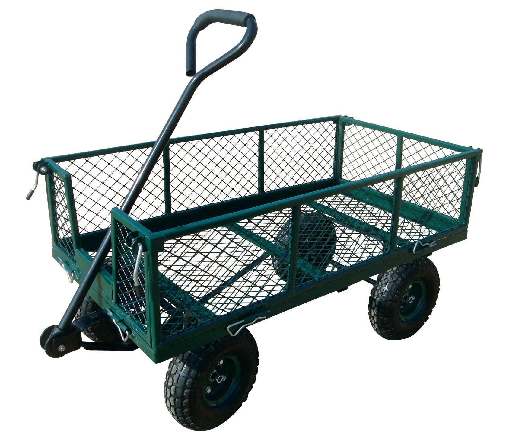 Sandusky Lee CW3418 Muscle Carts Steel Utility Garden Wagon, 400 lb. Load Capacity, 21-3/4'' Height x 34'' Length x 18'' Width by Sandusky (Image #2)