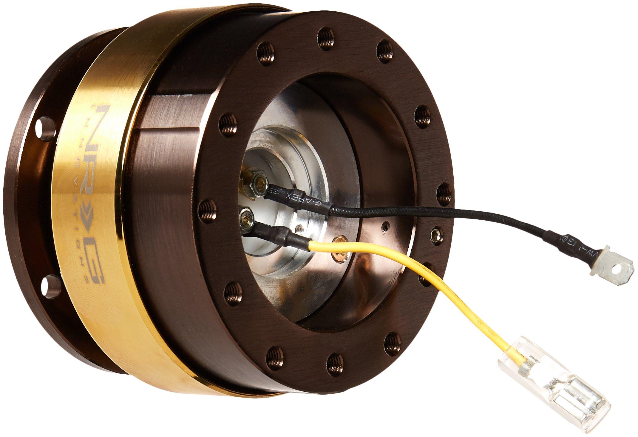 NRG Innovations SRK-200BR-CG Quick Release (Bronze Body / Chrome Gold Ring)