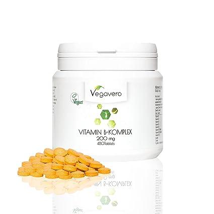 Complejo Vitamina B | 200mg: LA DOSIS MÁS ALTA | SIN ADITIVOS | Cansancio + Estado de Ánimo + Memoria + Anemia + Piel, Pelo y Uñas | B1 + B2 + ...
