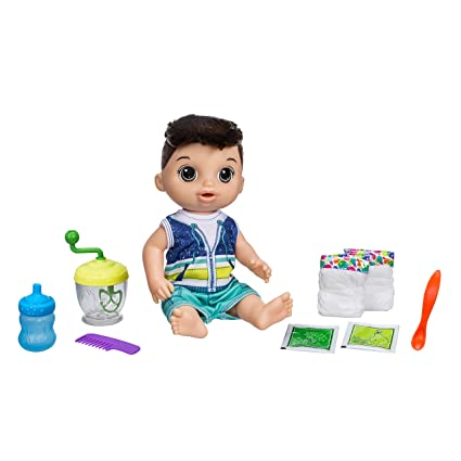 Baby Alive Sweet Spoonfuls Baby Doll Boy BR