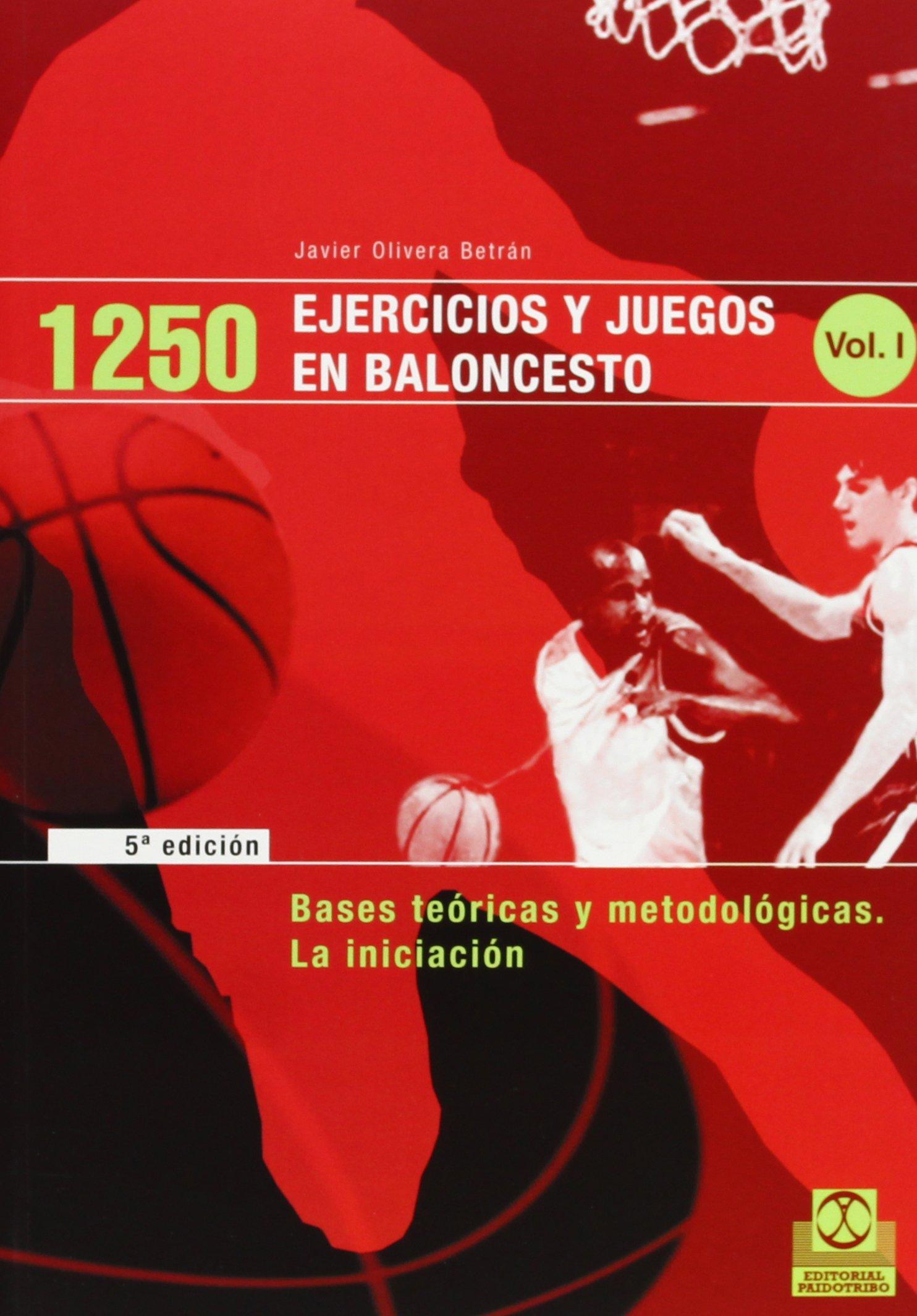 1250 Ejercicios y Juegos de Baloncesto - 3 Tomos (Spanish Edition)