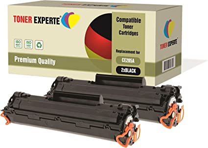Pack de 2 TONER EXPERTE® Compatibles CE285A 85A Cartuchos de Tóner ...