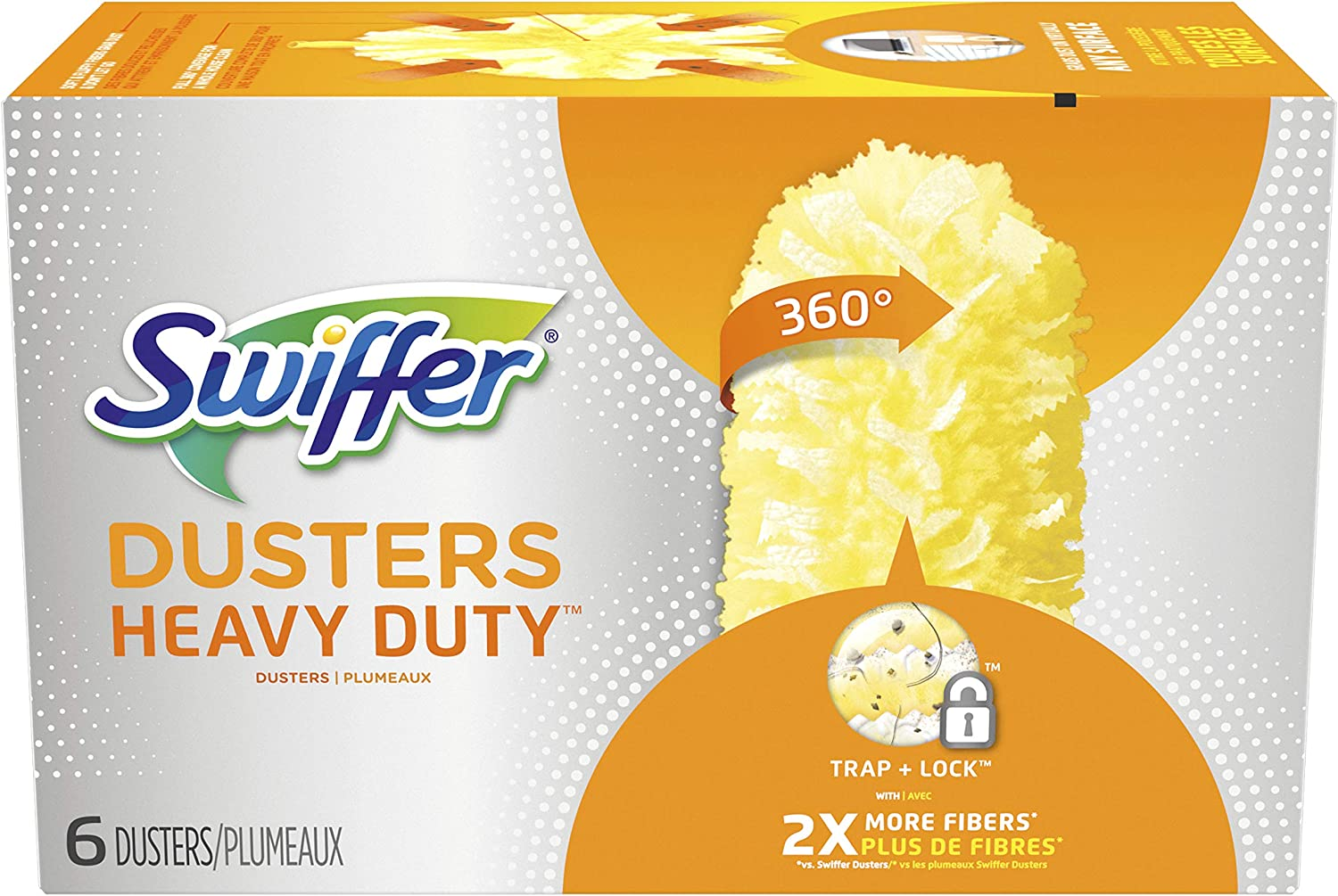 Swiffer 360 Dusters Refills 6 Count (Pack of 2)