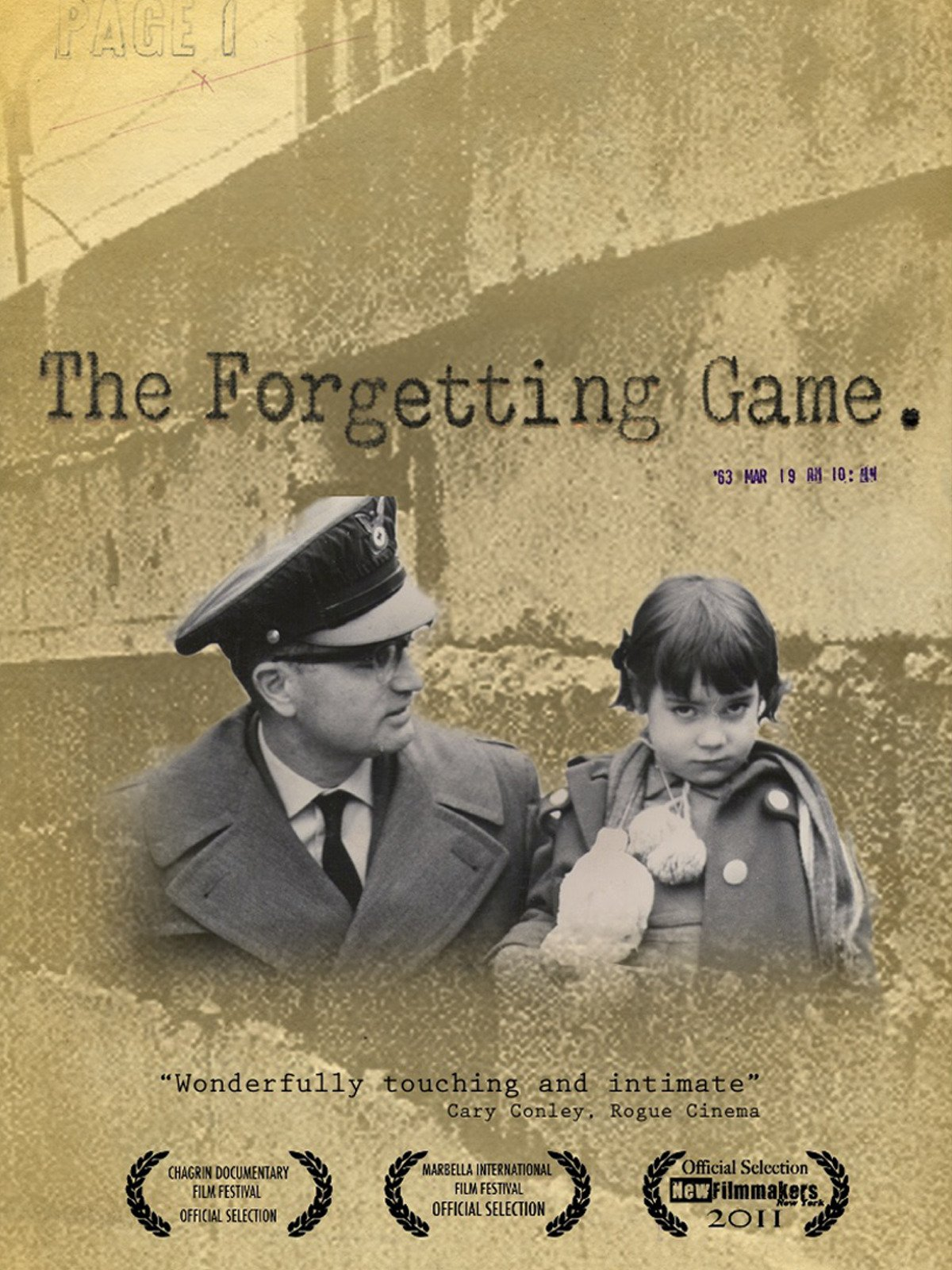 The Forgetting Game on Amazon Prime Video UK