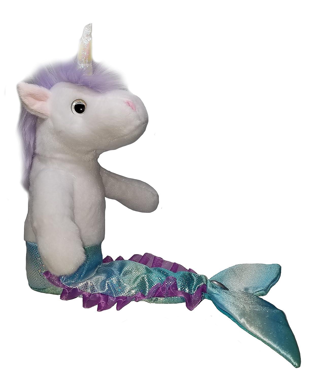Mericorn Mermaid Unicorn 17 Plush Animal Toy Purple The Petting Zoo