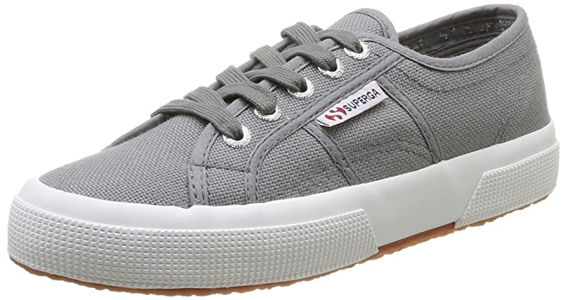 Superga 2750 Cotu Classic Sneakers Low-Top Unisex Damen Herren Grau (Grey Sage)
