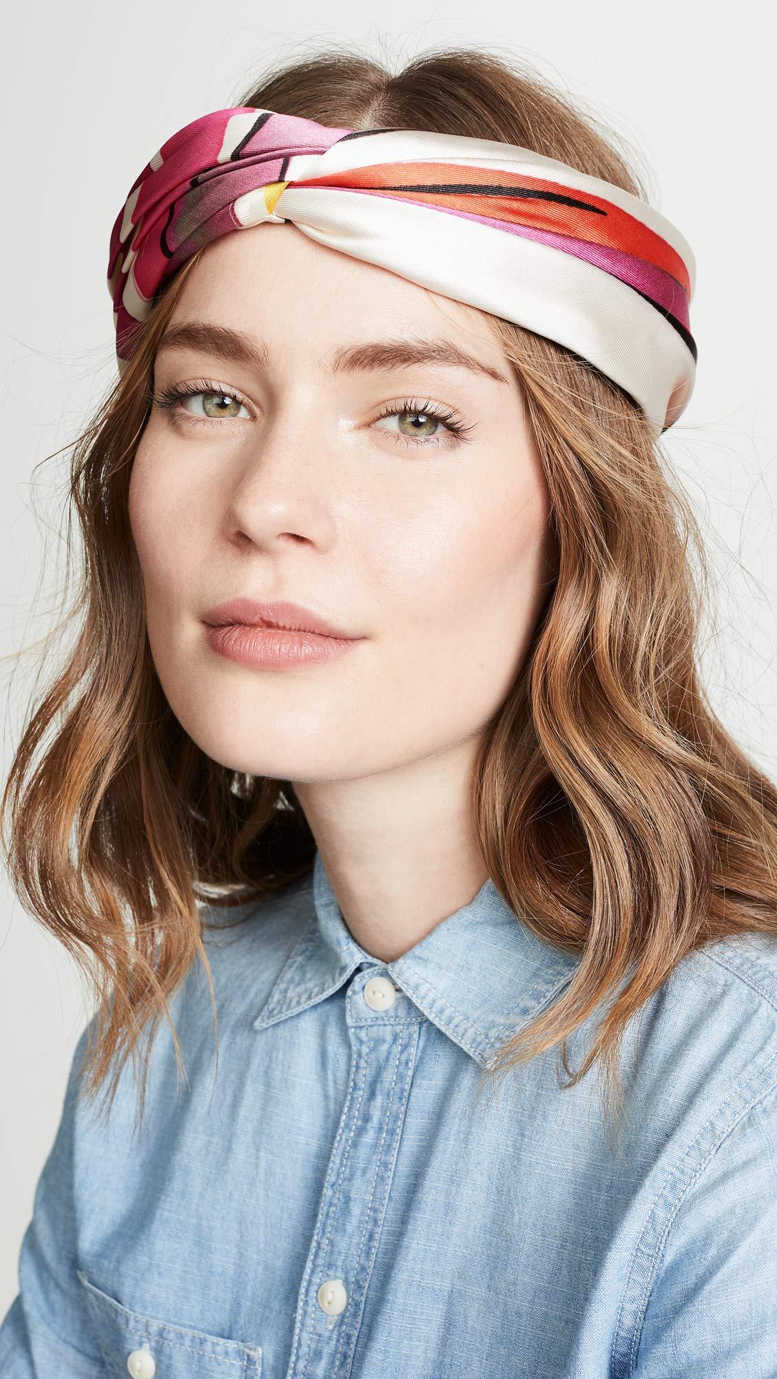 Eugenia Kim Women's Malia Headband, Pink/Red, One Size by Eugenia Kim (Image #3)