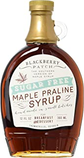 product image for Maple Praline Flavored Sugar Free Syrup, 12oz, Blackberry Patch