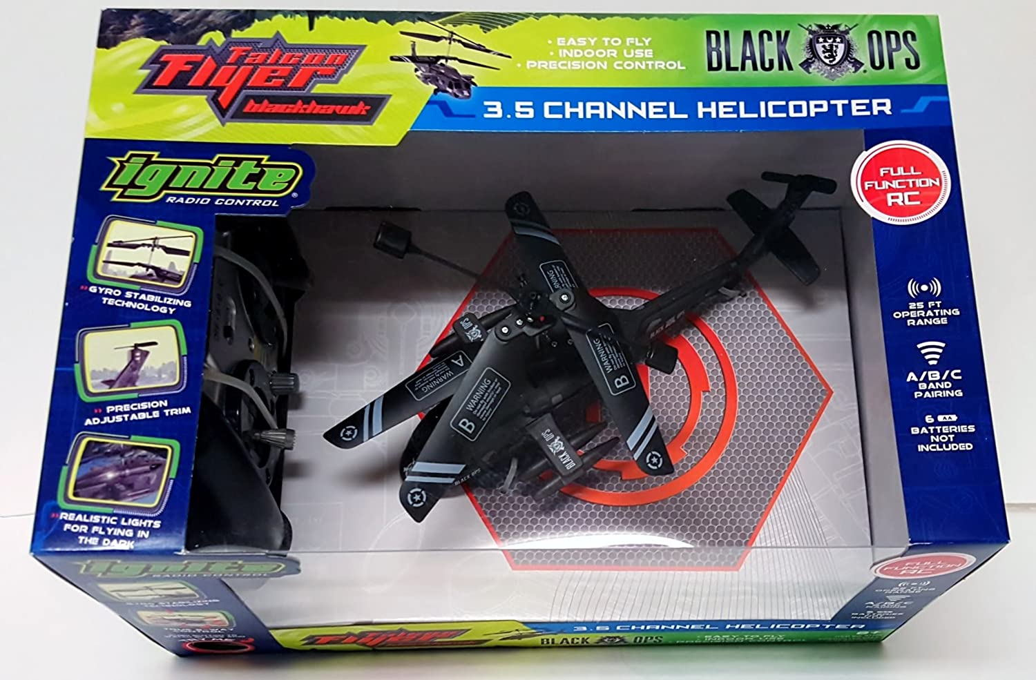 Ignite Falcon Flyer Blackhawk Radio Control 35 Channel And Are More Functional Than A Basic 4 Or 5 Rc Transmitter Helicopter R C Toys Games