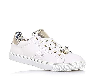 Chaussures De Sport Pour Les Femmes En Vente, Blanc, Cuir, 2017, 35 Liu Jo