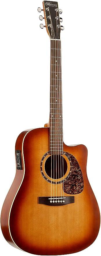 Norman protege B 18 CW Cedar Guitarra acústica con pastilla TB lacado mate: Amazon.es: Instrumentos musicales