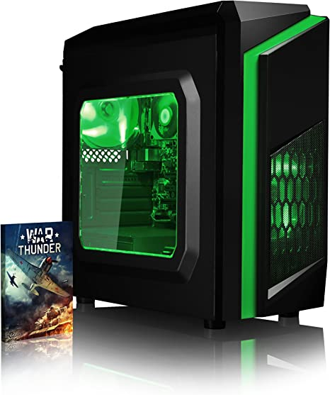 VIBOX FX-18 - Ordenador de sobremesa Gaming (USB, Intel Core i7 ...