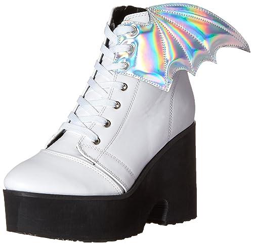 46c29b9fb341a Amazon.com   Iron Fist Women's Walker Boot, White, 10 M US   Ankle ...