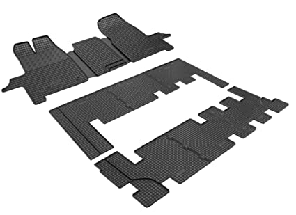 Rigum Fu/ßmatten Gummifu/ßmatten Automatten Passgenau Gummimatten Transit Qualit/ät Fahrzeugspezifisch TX-0965-1