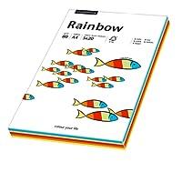 Papyrus 88043188 Ramette de 100 feuilles de papier multifonctions A4 80 g/m² Rainbow (Mélange de couleurs)