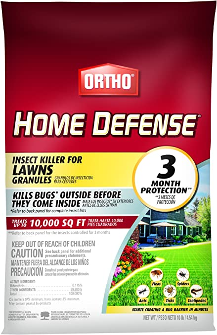 Amazon.com : Ortho Home Defense Insect Killer for Lawns Granules ...