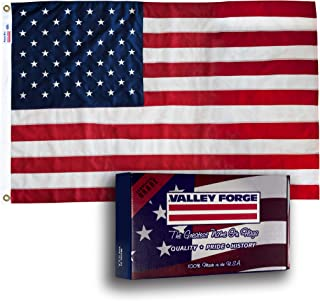product image for Valley Forge 24211000 American Flag, 2.5'x4' Grommeted, 0