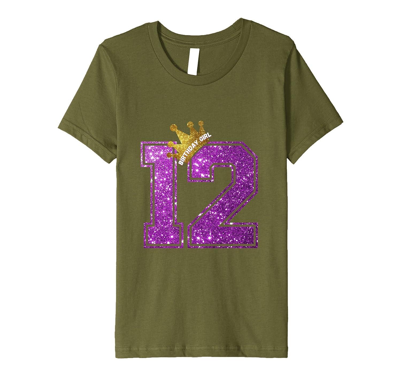 12 Year Old Birthday Shirt