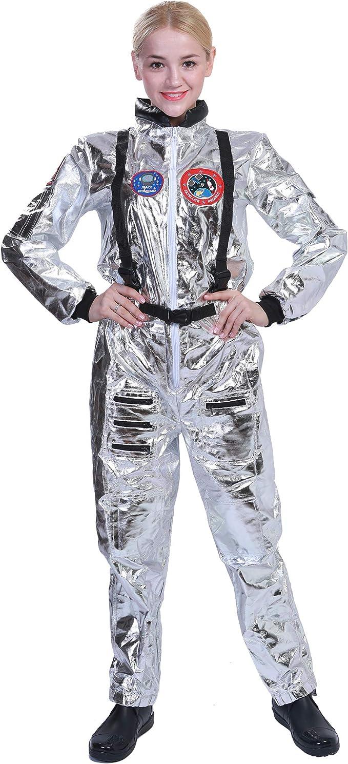 EraSpooky Mujer Astronaut Spaceman Disfraz: Amazon.es: Ropa y ...