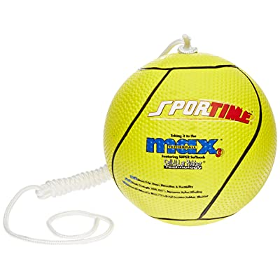 SportimeMax Tetherball, Yellow: Industrial & Scientific