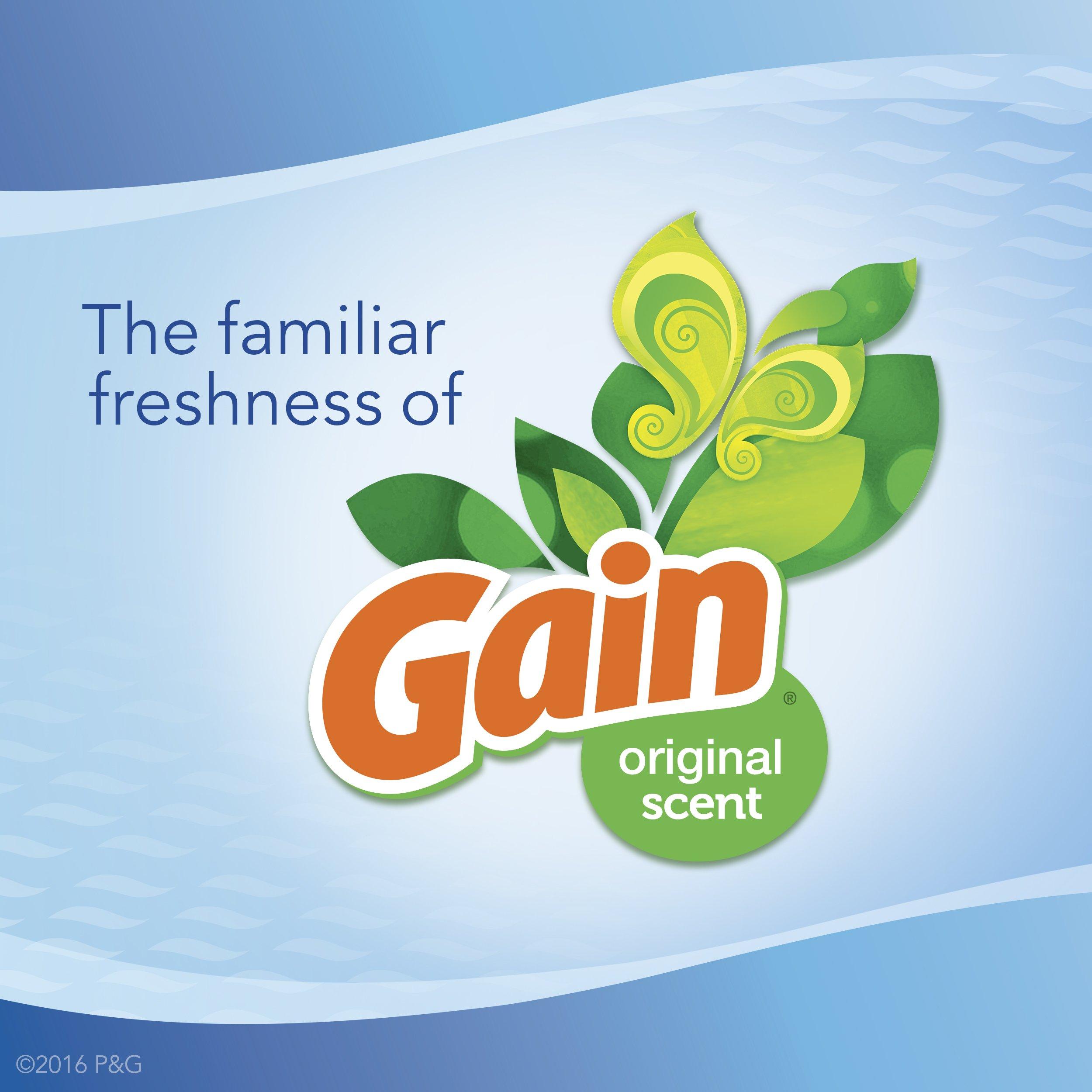 Febreze Air Freshener,  Small Spaces Air Freshener,  with Gain Original Starter Kit Air Freshener 5.5 mL(Pack of 8) by Febreze (Image #5)