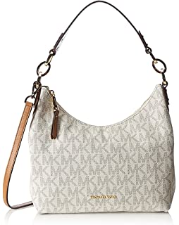 64e648bd72ef8d MICHAEL Michael Kors Isabella Medium Convertible Shoulder Bag (Vanilla)