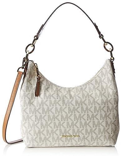 02d1d059f0 Amazon.com  MICHAEL Michael Kors Isabella Medium Convertible Shoulder Bag  (Vanilla)  Shoes