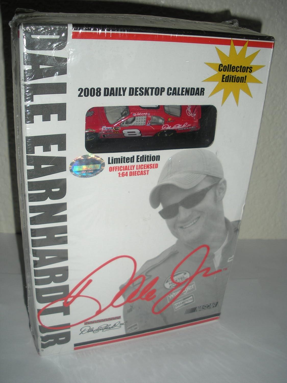 Dale Earnhardt Jr -- 2008 Dailyデスクトップカレンダー& Die Cast Car --新しいinボックス   B00IVD6E8A