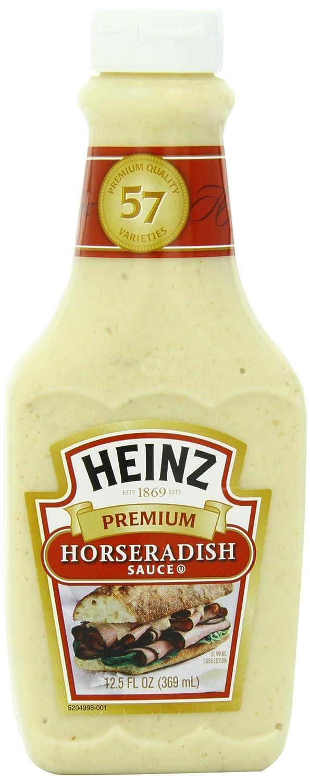 amazon com heinz premium horseradish sauce 12 5 ounce pack of 6