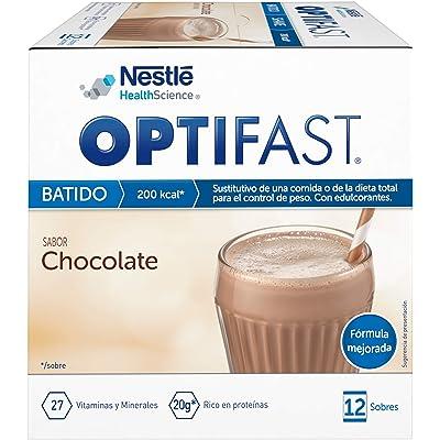 OPTIFAST Batido Chocolate envase de 12 sobres x 53 gr