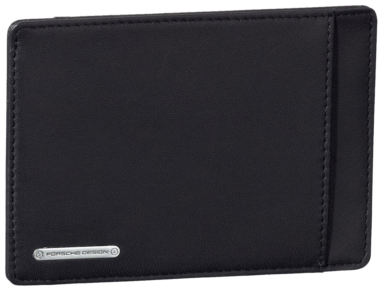 TALLA one size. Porsche Design 09/18/19172-01 - Monedero de Cuero Unisex, Color Negro, Talla One Size