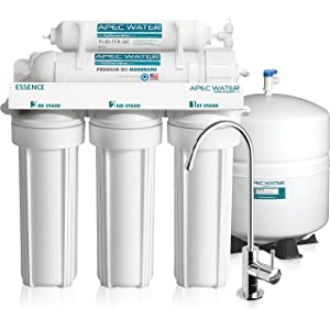 APEC - Top Tier - Built in USA Premium 5-Stage Reverse Osmosis System (ROES-50)