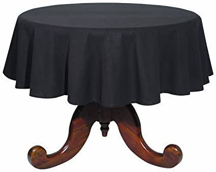 Delicieux Now Designs 60 Inch Round Spectrum Tablecloth, Black