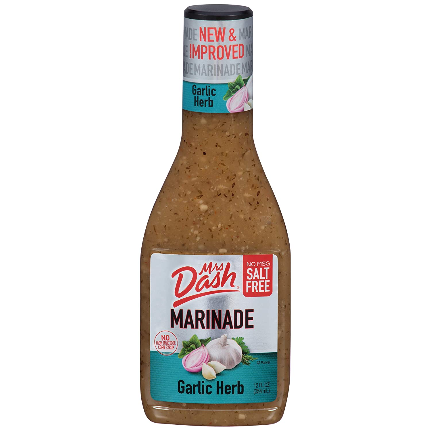 Mrs. Dash, Marinade, Garlic Herb, 12 Ounce