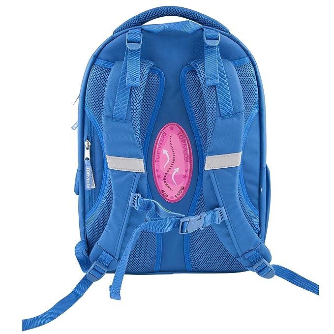 Top Model Mochila Escolar Friends Azul, 6622: Amazon.es: Juguetes y juegos