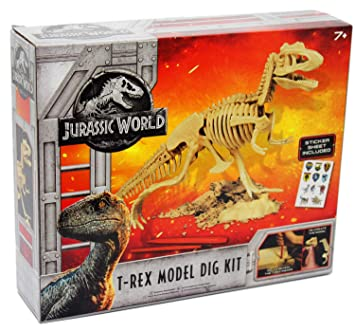 Jurassic World Dig a Dino Kit Tyrannosaurus Rex Excavation Kit