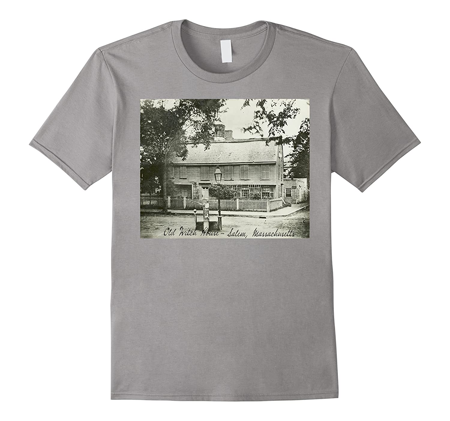 Old Salem Witch House, Salem, Massachusetts T-shirt-FL