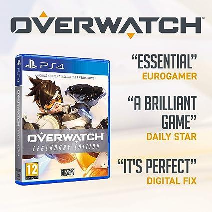 Overwatch Legendary Edition - PlayStation 4 [Importación inglesa]: Amazon.es: Videojuegos
