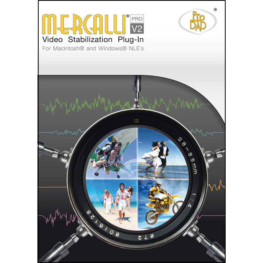 proDAD Mercalli V2 Video Stabilizer Plug-in for Windows 64-bit NLEs [Download] by ProDAD
