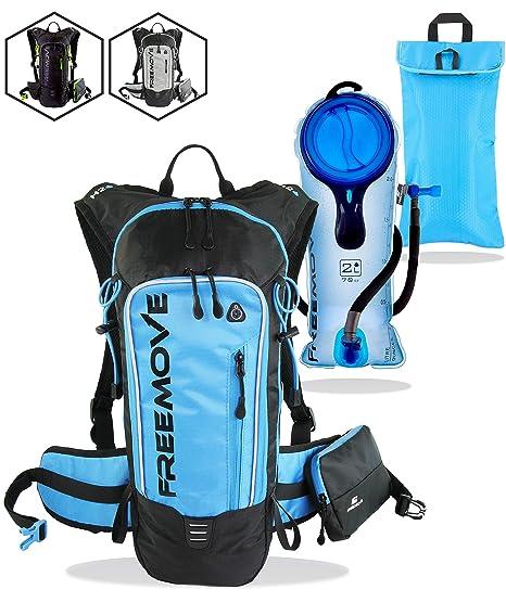 4ff61b2fdd Hydration Pack Backpack with 2L Water Bladder & Cooler Bag KEEPS DRINK COOL  , Lightweight -