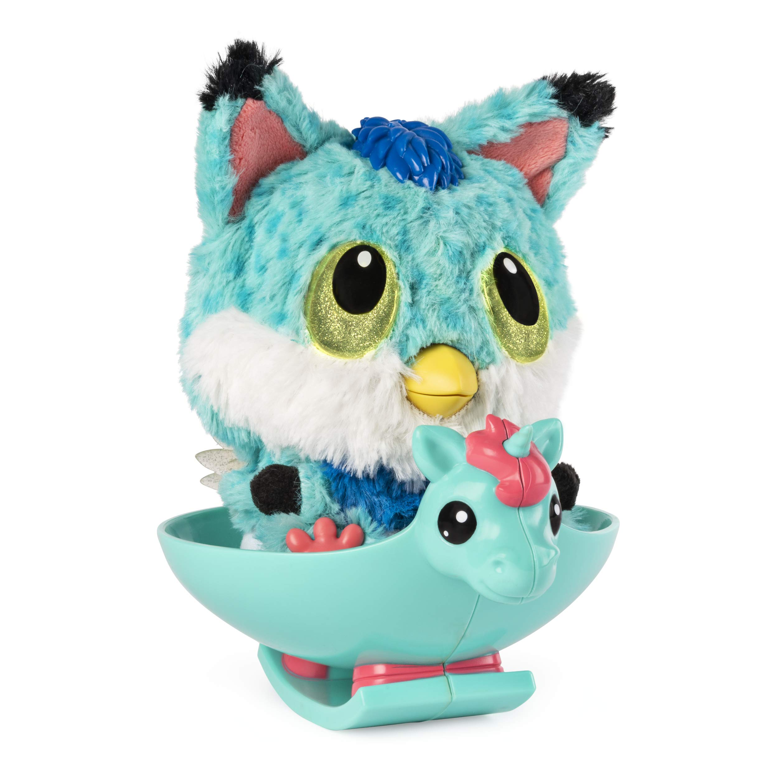 Hatchibabies FoxFin - Hatching Egg with Interactive Pet Baby (Styles May Vary) Ages 5 and Up - HOT Toy 2018 by Hatchimals (Image #3)