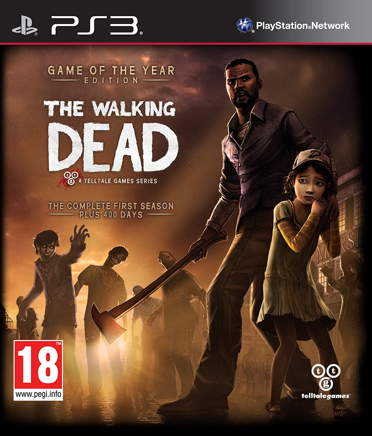 Amazon Com The Walking Dead Game Of The Year Edition Ps3 Video Games