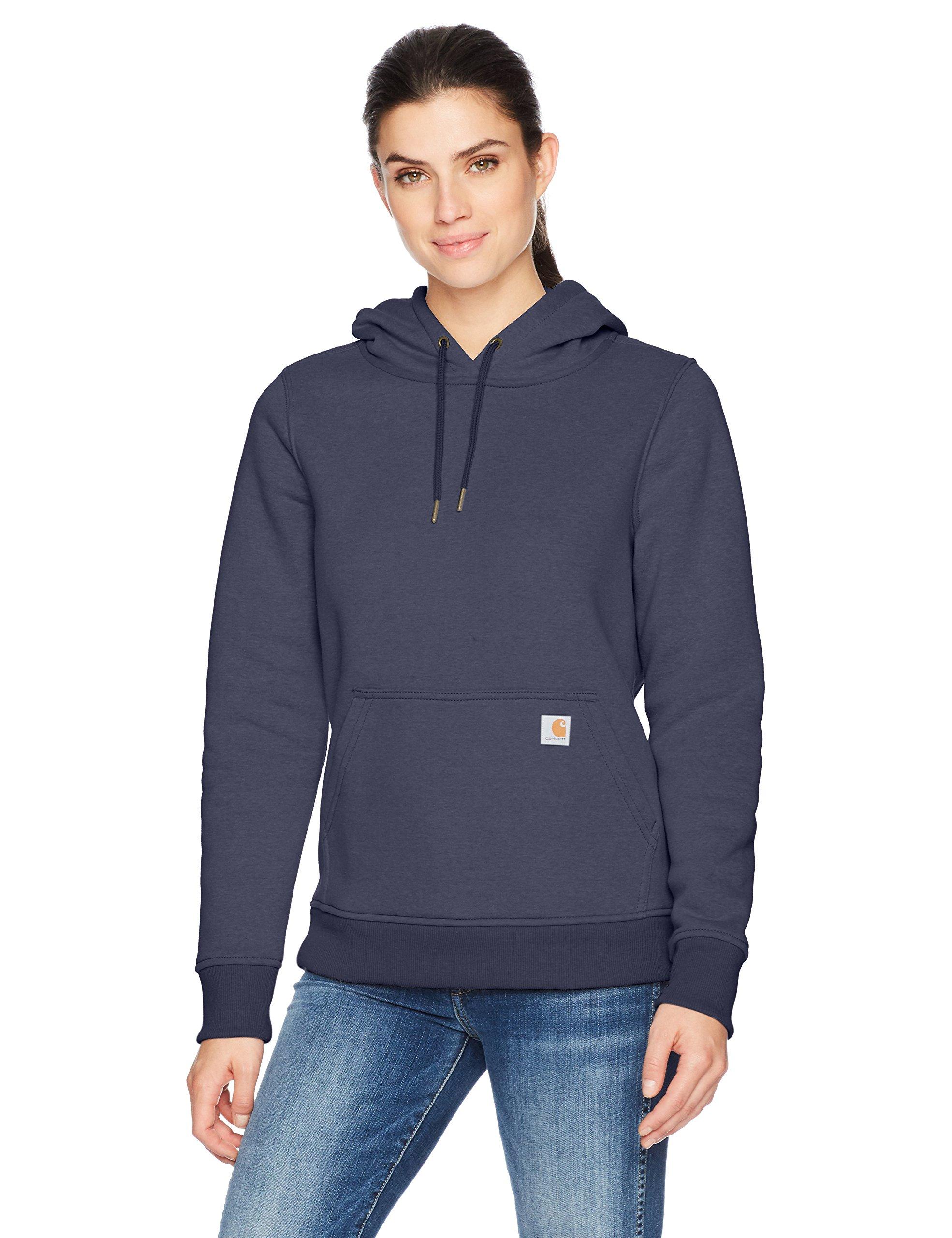 Carhartt Women's Clarksburg Pullover Sweatshirt, Navy, XXL