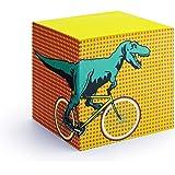 Mustard T-Rex Dinosaur Paper Memo Pad Block